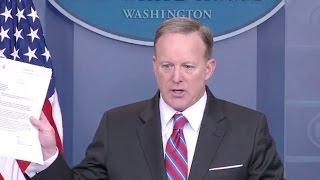 Mar 28, 2017 Sean Spicer White House Press Briefing - Full Event