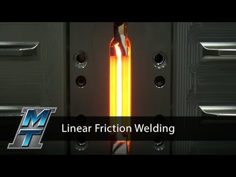 Linear Friction Welder Capable of Full Size Development Parts