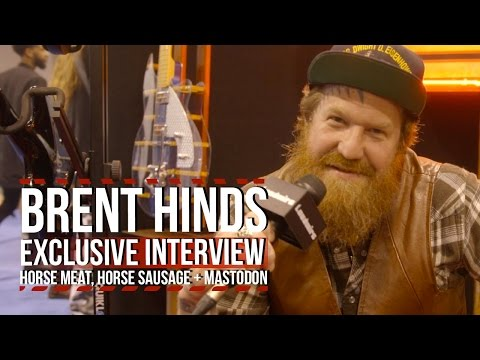 Mastodon's Brent Hinds is Gonna Eat Horse Meat + Burn His Studio Down Mp3