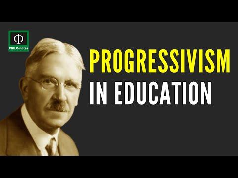 PROGRESSIVISM in Education - Philosophical Foundations of Education