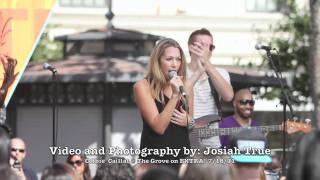 "Colbie Caillat ""Brighter Than the Sun"" Live on EXTRA at The Grove"