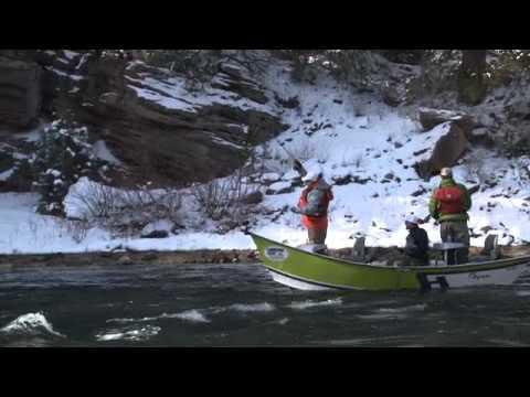 Winter Fishing On The Green River Seg 1