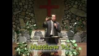 Jesus heals a paralyzed man, part 1 - Matthew 9:1-2