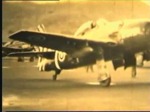 RTAF  F8F-1/1B BEARCAT # 4   Fire Power Demonstration 1956