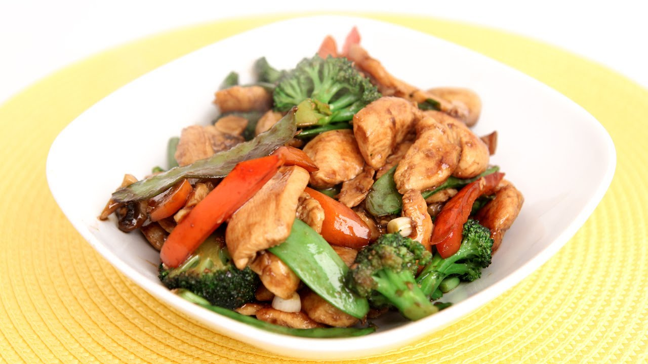 Chicken Veggie Stir Fry Recipe Laura Vitale Laura In The Kitchen Episode 733 Youtube