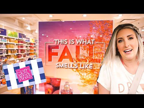 BATH & BODY WORKS SHOP WITH ME! | FALL COLLECTION