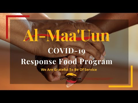 Al-Maa'uun & Masjid An-Nur serving communities during COVID-19 is a great example of community first