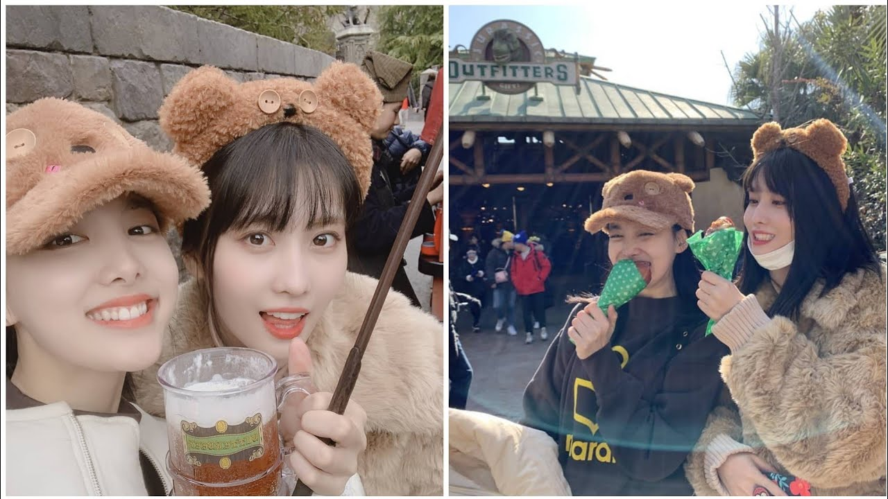 Momo Youtube Update: TWICE Momo & Nayeon 'Vacation In Japan' Instagram Photos
