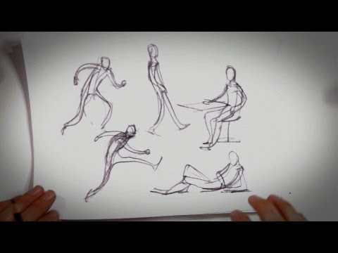 6 Tips about Gesture Drawing | Drawing Tips