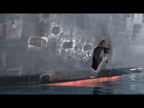 البحرية الأمريكية: شظايا ألغام ومغناطيس تشير لضلوع إيران في هجوم على ناقلة بالخليج…  - نشر قبل 3 ساعة
