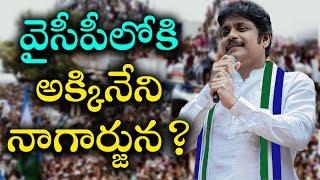 Akkineni Nagarjuna To Join In YSR Congress Party! | వైసీపీలోకి అక్కినేని నాగార్జున? | indiontvnews