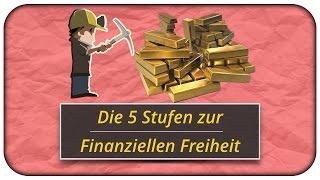 In 5 Stufen zur Finanziellen Freiheit inkl. Rechner 💰
