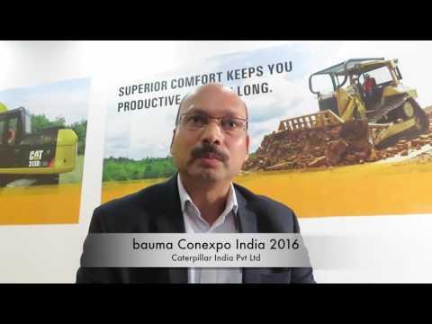 Mr. Amit Bansal - Caterpillar India Pvt Ltd - bauma Conexpo India 2016
