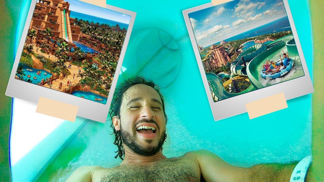 El parque acuático MÁS COSTOSO de Dubai!  | ¿vale la pena?