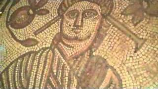 Hinton St Mary Roman Villa Mosaic of