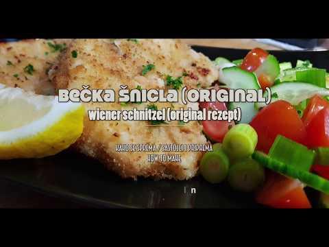 bečka šnicla originalni recept