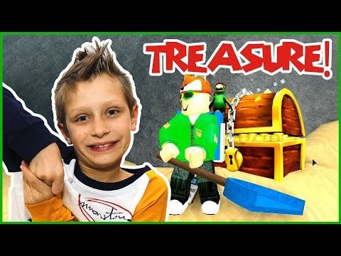 Digging Up Treasure Chests