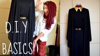 DIY HOW TO MAKE YOUR OWN ABBAYA/DRESS!
