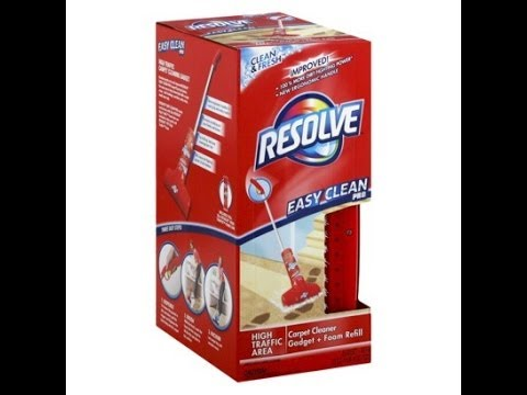 Resolve Easy Clean Pro Carpet Cleaning System Review