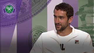 Marin Cilic Wimbledon 2017 final press conference