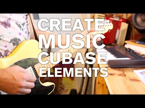 Create Music with Cubase Elements – Part 1