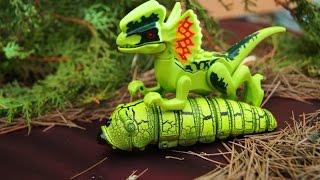 БЕРЕГИСЬ, ДИНОЗАВРЫ!!! Приключения динозавров и животных! Мультики для детей и малышей