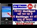 Jio phone me hotspot kaise chalu kare 100% Working Live Proof Jio phone me hotspot kaise on kare