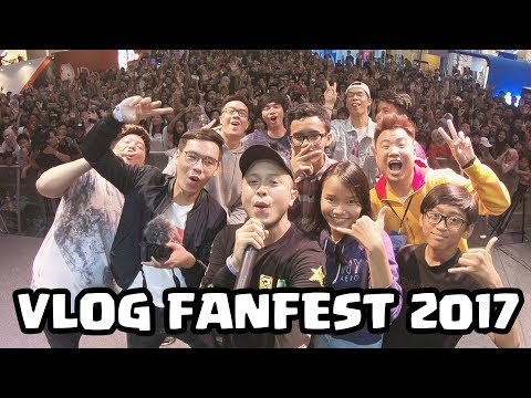 Youtuber Gaming Indonesia - Fanfest 2017 Panggung