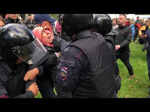 NevexTV: Полицию бьют - Питер 16 09 2018