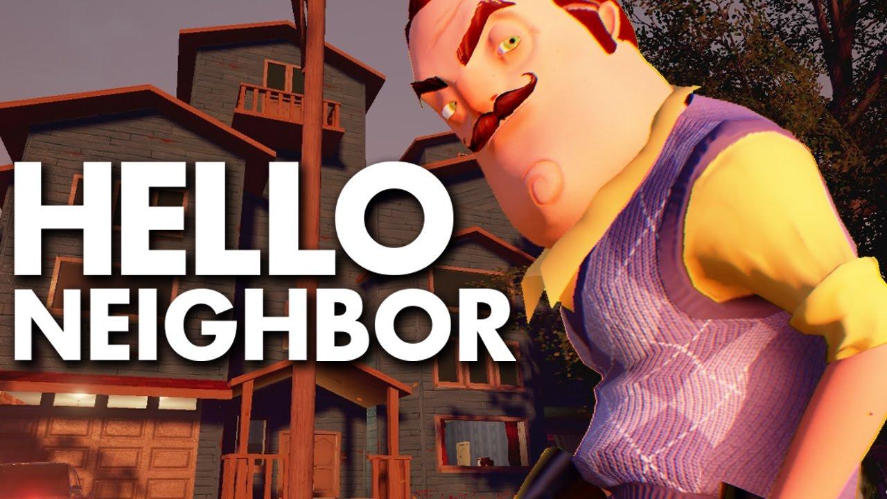 Hello Neighbor Stealth Horror Demo Youtube
