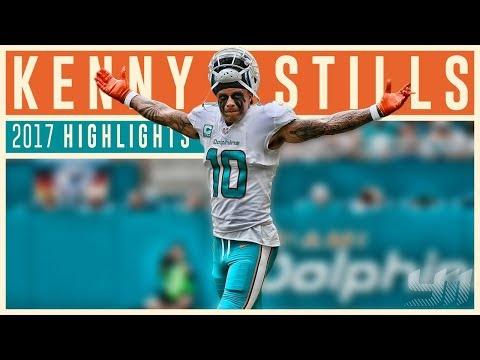 Kenny Stills 2017 Miami Dolphins Highlights