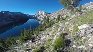 Backpacking the Sawtooth Mountains 6 25 2015