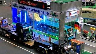 Video RC CAR-WASH MODEL BUS IN THE AUTOMATIC TRUCK-WASH STATION / Erlebniswelt Modellbau Erfurt 2016 download MP3, 3GP, MP4, WEBM, AVI, FLV Agustus 2018