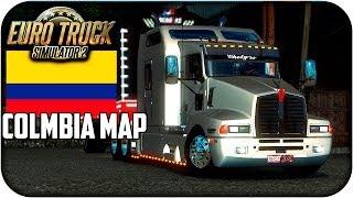 Mapa de colombia | Euro truck simulator 2 | 1.17 - 1.21 | capitulo 1