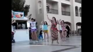 Урок восточного танца в Египте