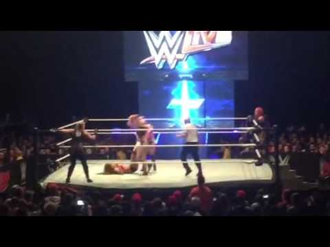 Wwe Live Las Vegas Nevada 2016 October 1 Diva Tagteam match