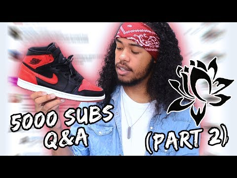 Fashion Advice, Hair Care Secrets & Growing up Biracial | 5000 Subscribers Q&A Part 2