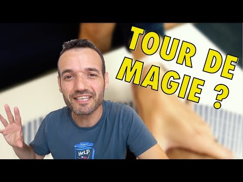 Explication d'un tour de magie que vous pourriez faire cet été