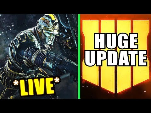 Countdown till NEW (BO4) Big Update - Black Ops 4 Update 1.07 Live thumbnail