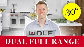 Wolf Range - DF304 Dual Fuel 30 Inch [REVIEW]