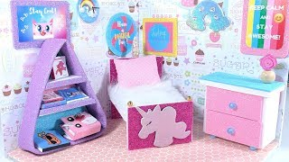 DIY Miniature Dollhouse Room for Unikitty!  (NOT A KIT)