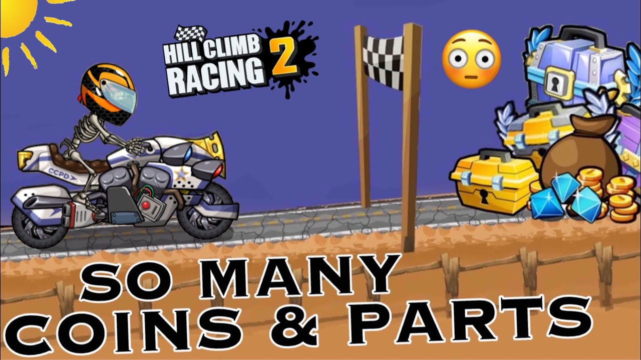 GRINDING CUPS FOR 10H STRAIGHT + ALWAYS FINISHING CHESTS | Hill Climb Racing 2