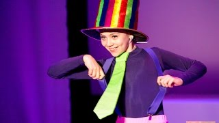Русская национальная балетная школа Илзе Лиепа. Костюмы: шляпник, жилетки цветные, брюки черные