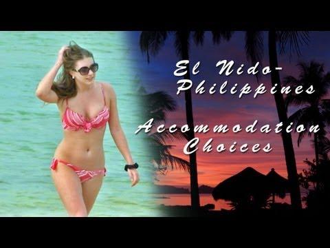 El Nido, Palawan, Philippines Accommodation Choices