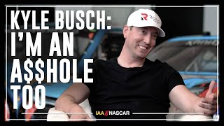 Kyle Busch: I'm An A$$hole Too | I AM NASCAR w/Brandon Marshall, Chad Johnson & More