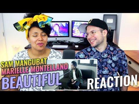 Sam Mangubat & Marielle Montellano - Beautiful (Acoustic Cover) | REACTION streaming vf