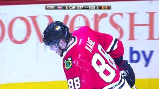 Patrick Kane Amazing Goal vs Montreal   November 13, 2016