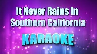 Hammond, Albert - It Never Rains In Southern California (Karaoke version with Lyrics)