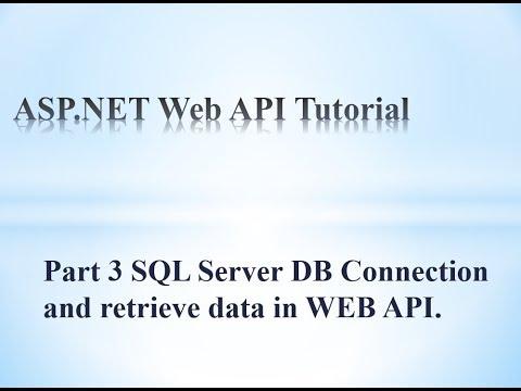 web api entity framework database first tutorial