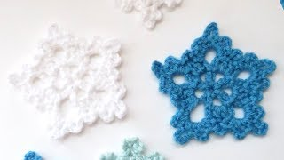 In this video I show you how to crochet another one of my snowflakes. I hope you enjoy! Full snowflake playlist!
